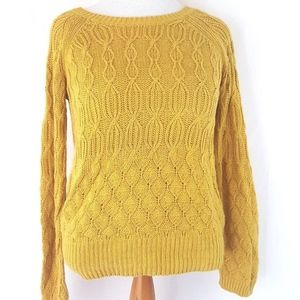 Sparrow for Anthropologie Cable Knit Sweater XL